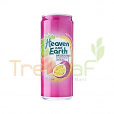 HEAVEN&EARTH ICE PASSION FRUIT TEA 300ML