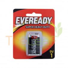 EVEREADY BAT. SUPER HEAVY DUTY 9V 1222BP 1'S