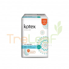 KOTEX NATURAL CARE A/BACTERIA MAXI NON WING 20'S