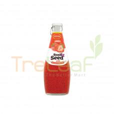 PRAN BASIL SEED DRINK STRAWBERRY 290ML