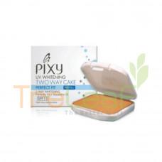 PIXY UV WHITENING 2WAY CAKE YELLOW BEIGE REFILL (12.2GM)