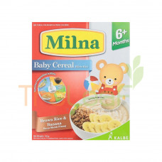 MILNA CEREAL BRW RICE (6+) 120GM