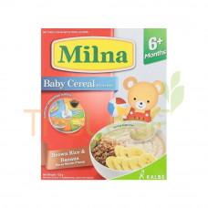 MILNA CEREAL BROWN RICE & BANANA (6+) 120GM