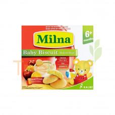 MILNA BABY RUSK MIXED FRUIT 130GM