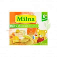 MILNA BABY RUSK ORANGE 130GM