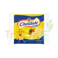CHESDALE PLAIN CHEESE 125GM