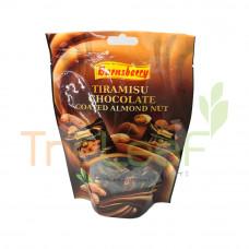 BARNSBERRY TIRAMISU CHOCO COATED ALMOND NUT(DOY PACK) 120GM