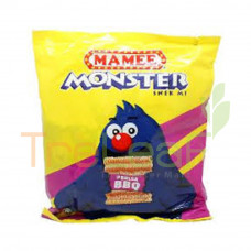 MAMEE MONSTER NOODLE SNACK BBQ (25GMX8'S)