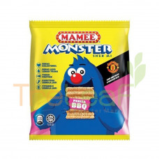 MAMEE MONSTER NOODLE SNACK BBQ (25GMX10'S) FREE RANTAI KUNCI LEPAK-STER