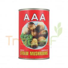 AAA STRAW MUSHROOM 425GM