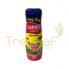 CARRIE JUNIOR BABY PWD CHEEKY CHERRY 125GM FREE 25GM