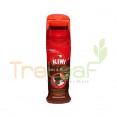 KIWI SHOE SHINE & PROTECT BROWN 75ML