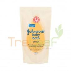 JOHNSON BABY BATH PEACH TWIN PACK (600ML)