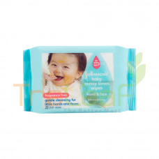 JOHNSON BABY MESSY TIMES WIPES