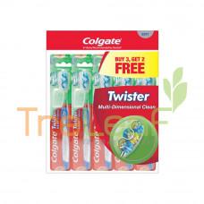 COLGATE T/B TWIS FRESH SOFT-BUY3+2