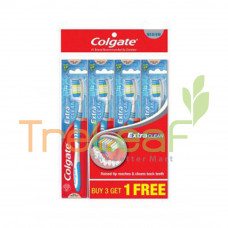 COLGATE TOOTHBRUSH EXTRA CLEAN FAMILY PACK BUY3+1