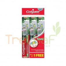 COLGATE TOOTHBRUSH TWISTER SOFT BUY 2 FREE 1