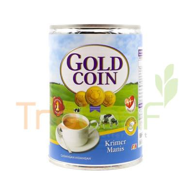 F&N GOLD COIN SWEETENED CREAMER EOE-BIRU 500GM