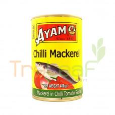 AYAM BRAND CHILLI MACKEREL IN TOMATO SAUCE 425GM