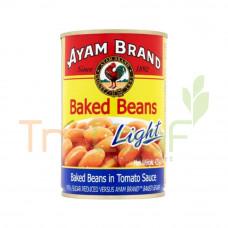 AYAM BRAND BAKED BEANS LIGHT 425GM