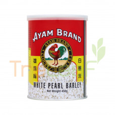 AYAM BRAND BARLI TIN WHITE PEARL BARLEY 450GM