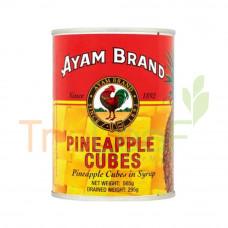 AYAM BRAND PINEAPPLE CUBES 565GM
