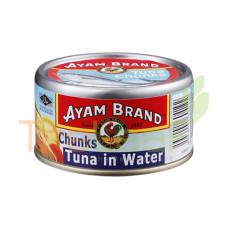 AYAM BRAND CHUNKS TUNA IN WATER 150GM