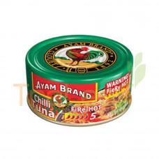 AYAM BRAND CHILLI TUNA FIRE - HOT 160GM