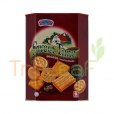 HUP SENG BISCUIT SWEET TIME ASSORTED (600GX6)