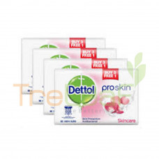 DETTOL SOAP SKINCARE (100GM) 3+1