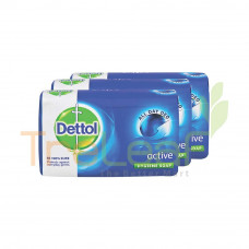DETTOL BAR SOAP ACTIVE 65GM