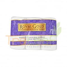 LUXURIOUS ROYAL GOLD KITCHEN TOWEL (6R)