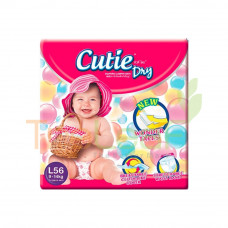 CUTIE DRY LARGE 56'S
