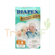 DIAPEX ADULT DIAPER BASIC L