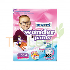 DIAPEX WONDER PANTS SUPER JUMBO PACK L