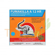FUMAKILLA 12HR JUMBO COILS PACK (20'SX40)