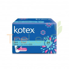 KOTEX S&S MAXI 24CM NWG 10'S
