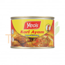 YEO'S CHICKEN CURRY WITH POTATOES (145GX24)