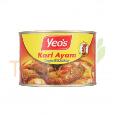 YEO'S CHICKEN CURRY WITH POTATOES 405GM