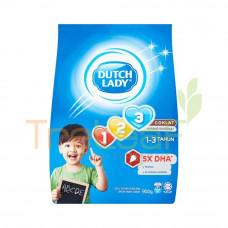 DUTCH LADY PWD GUM 123 CHOC 900GM