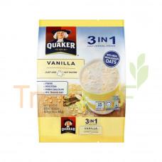QUAKER 3IN1 OAT CEREAL DRINK VNL 12(28GX15'S)