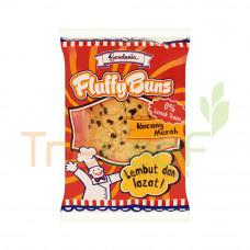 GARDENIA FLUFFY BUN-RED BEAN (60G)