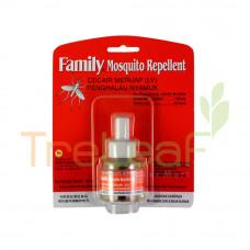 FAMILY MOSQUITO REPELLENT LIQUID REFILL 45ML