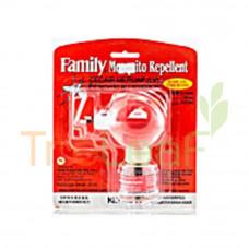 FAMILY MOSQUITO REPELLENT LIQUID VAP 45ML