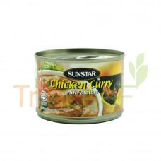 SUNSTAR CHICKEN CURRY+POTATOES 160GM