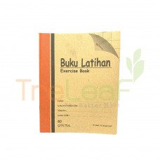 STATIONERY EXERCISE BOOK 80 - B/SQUARE *80BSQ (EBK80BSQ)