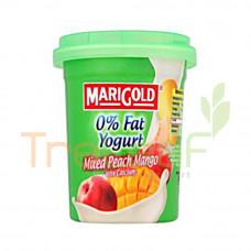 MARIGOLD 0% FAT YOGURT CREAM M.PEACH MANGO 135GM