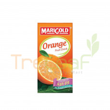 MARIGOLD FRUIT DRINK ORANGE LESS SUGAR (1LX12)