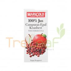 MARIGOLD 100%  FRUIT JUICE APPLE CRANBERRY 1L