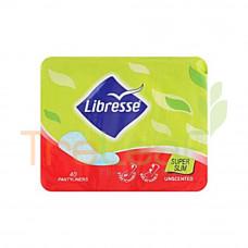 LIBRESSE SUPER SLIM PANTYLINER RM5.50 40'S